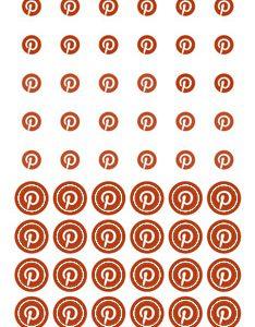 Стикеры-иконки «Делай день» №15, 10х21 см (1 см)