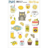 Стикеры с иллюстрациями «Делай день» №84, 10х15 см