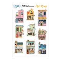 Стикеры с иллюстрациями «Делай день» №86, 10х15 см