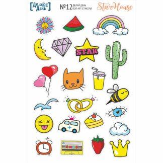 поп-арт стикеры 012