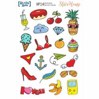 поп-арт стикеры 014