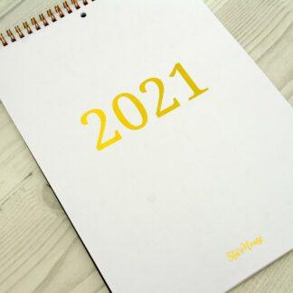 Планнинг-календарь А4 на 2021 г