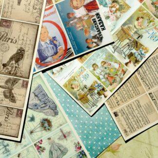 Бумага и карточки